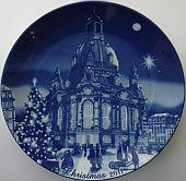 2011 Berlin Design Christmas Plate, English Text