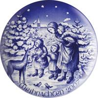 2007 Bareuther Christmas Plate