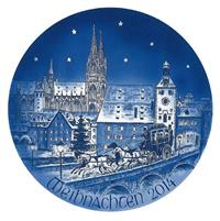 2014 Bareuther Christmas Plate
