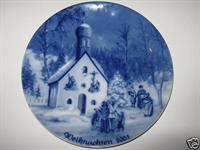2003 Berlin Design Christmas Plate-English Text